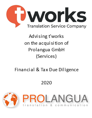 t work prolangua