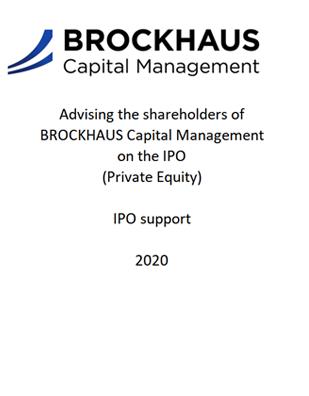 Brockhaus IPO