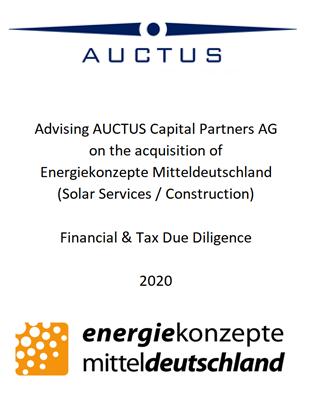 Auctus – Energie Konzepte